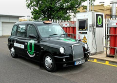 Lotus Fuel Cell Taxi