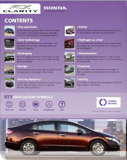 Honda FCX Clarity Publicity Booklet